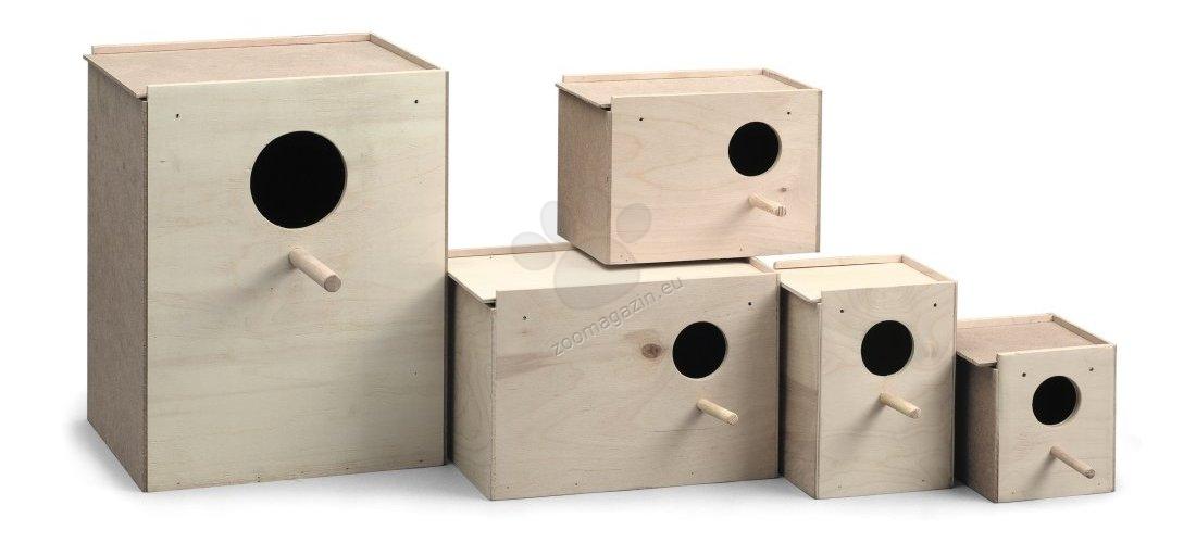 Padovan Wooden nest L5 - къщичка гнездилка за птички 21 / 15 / 14 см.