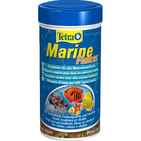 Tetra - Marine Flakes - храна на люспи за морски рибки 250 мл.