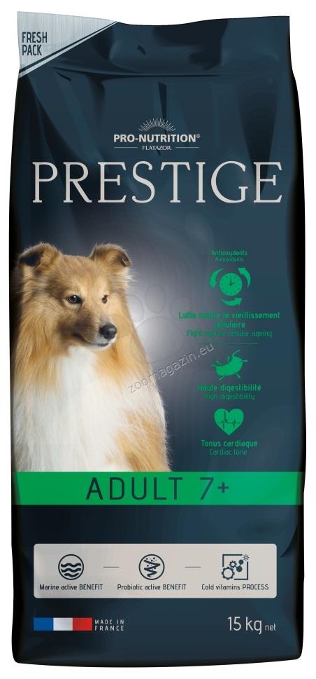 Flatazor Prestige Adult 7+ - пълноценна храна за кучета средни породи над 7 години 15 кг.