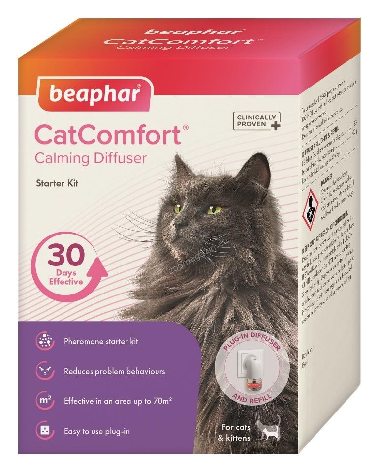 Beaphar CatComfort Diffuser - дифузер с ел.захранване, вкл. спрей с феромони 48 мл.