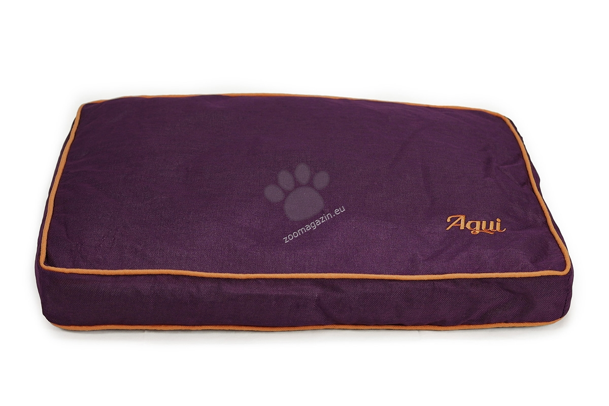 Agui Nature Cushion - луксозен мек матрак 110 / 80 / 12 см. / сиво, кафяво, синьо, лилаво /