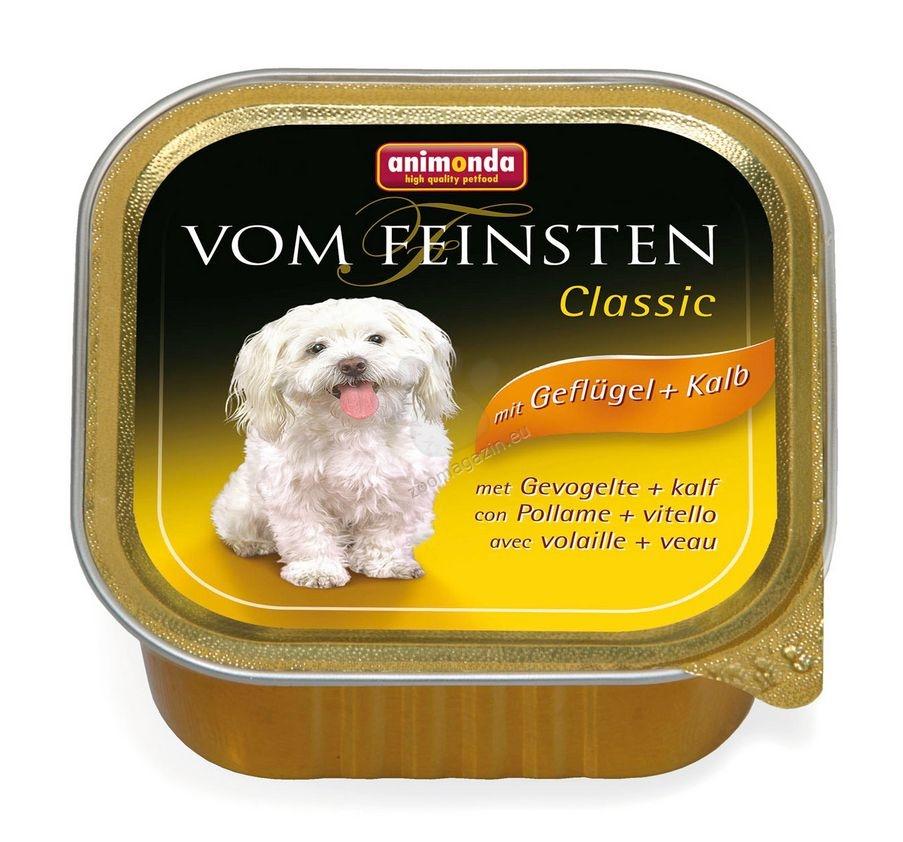 Animonda Vom Feinsten Classic Poultry Veal - c телешко и пилешко месо 150 гр.