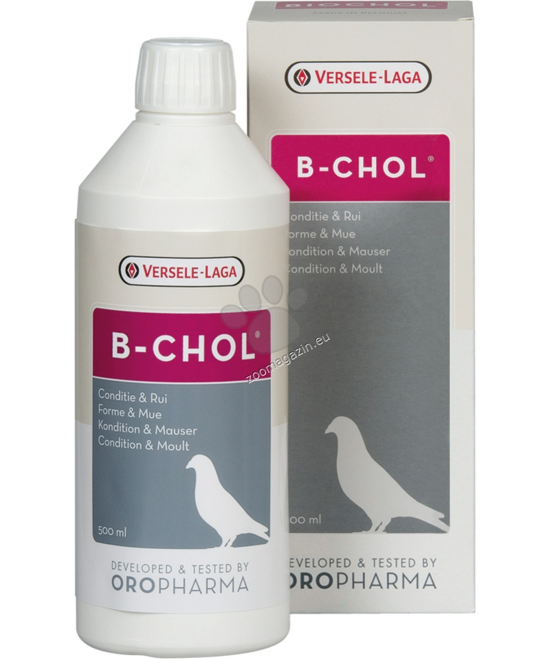 Versele Laga - Oropharma B-Chol - аминокиселини, сорбитол, биотин, вит В12 500 мл.