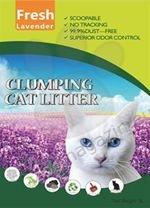 Valenger Clumping Cat Litter Fresh Lavender - бентонитова тоалетна с аромат на лавандула 5 литра