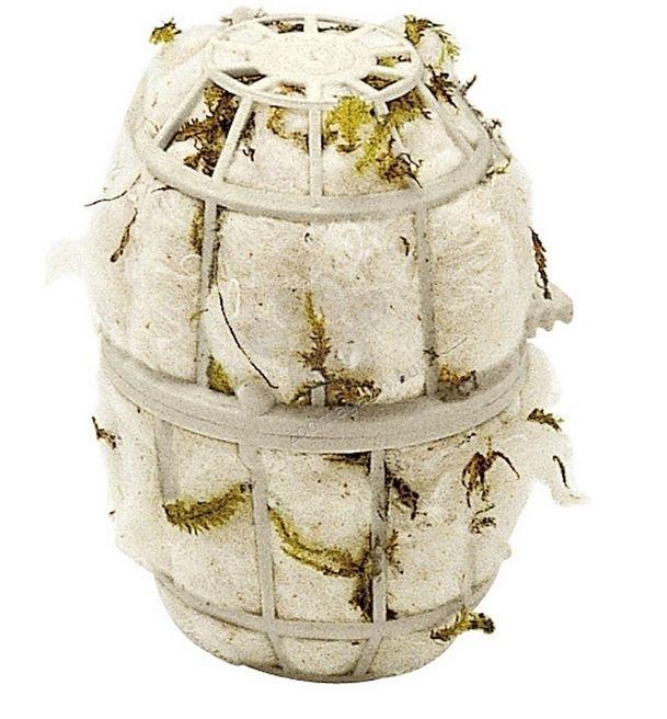 Ferplast - fpi4464 - eстествен памук за гнезда 8,1 / 10 cm - Ø 7 cm