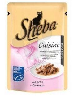 Sheba Causine Salmon - с филенца сьомга в сос 85 гр.