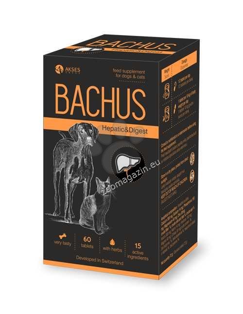 Bachus Hepatic&Digest - поддържа нормалната функция на черния дроб, подпомага увредения черен дроб 60 таблетки