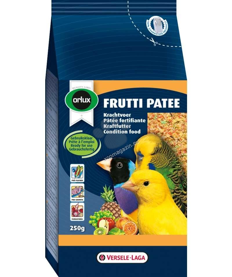 Versele Laga - Orolux Frutti Patee - енергийна храна за канари, финки вълнисти и други малки папгали, обогатена със сушени плодове и натурален мед 1 кг.