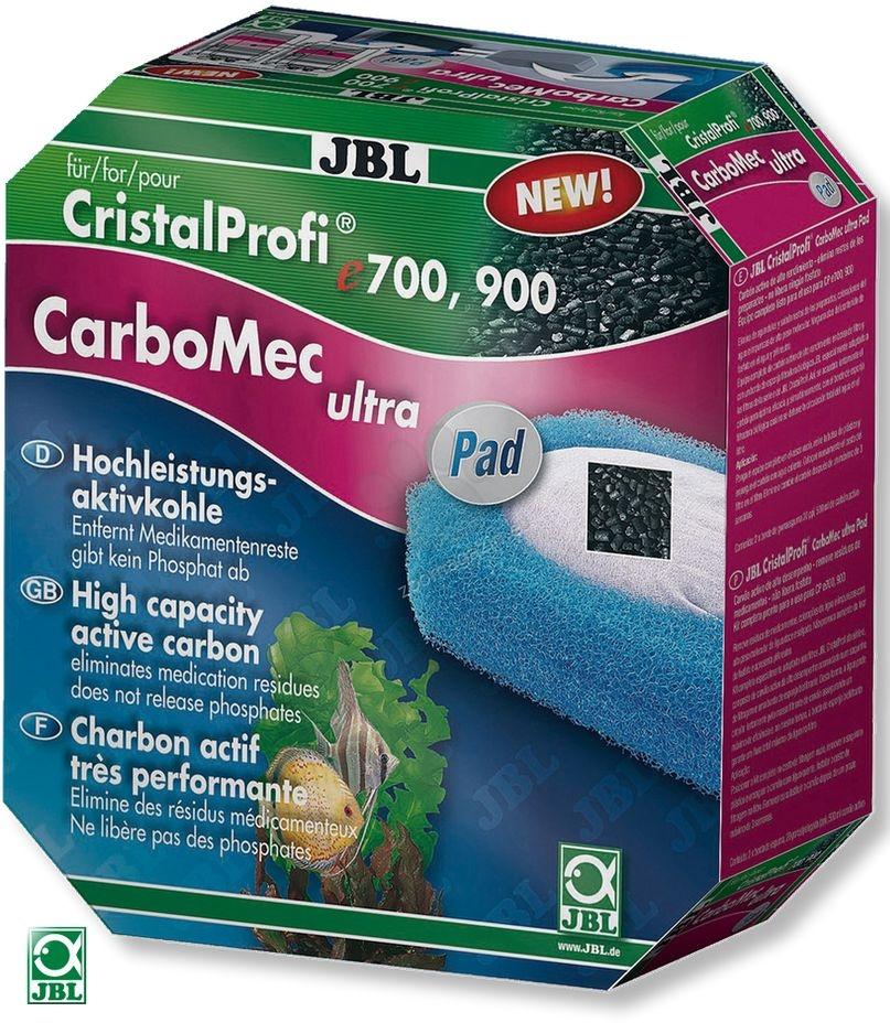 JBL Carbomec Ultra Pad CP e1500/1 - високо активен въглен с гъба за външен филтър CP e1500 800 мл.