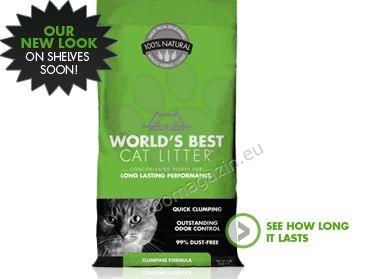 Worlds Best Cat Litter Clumping cat - най добрата тоалетна за Вашият дом 6.35 кг.