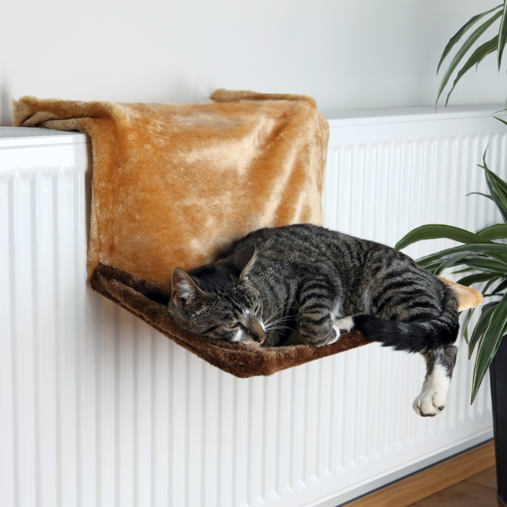 Trixie Radiator Bed, Plush - котешки хамак за радиатор 45 / 24 / 31 см. /бежова/