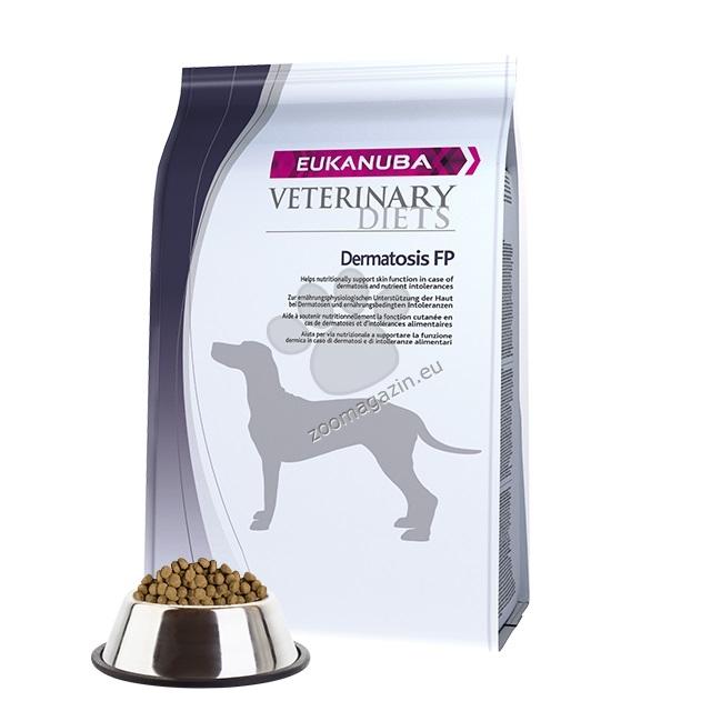 Eukanuba Dermatosis Dog - при алергии и кожни проблеми 12 кг.