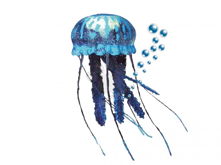 Nobby Fantasy Aqua Decor Jellyfish - декорация за аквариум 10 см.