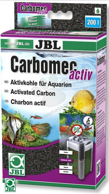 JBL Carbomec activ - високоактивен въглен за сладководни аквариуми  400 гр