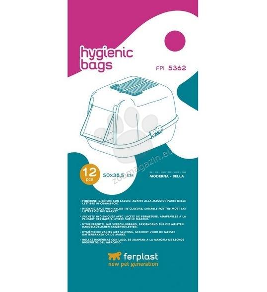 Ferplast - Hygienic Bags - торбички за тоалетни модели: Bella, Moderna, Prima - 12 броя