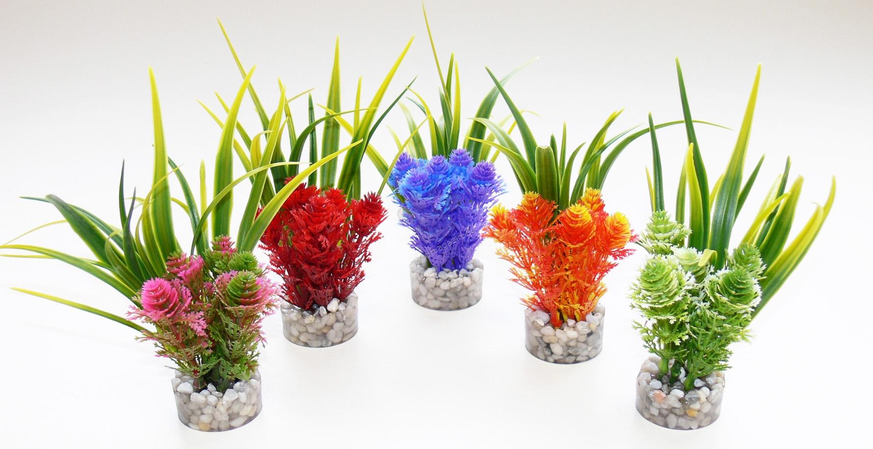 Sydeco Nano Fiesta Flower 14 см. / розово, червено, синьо, оранжево, зелено /