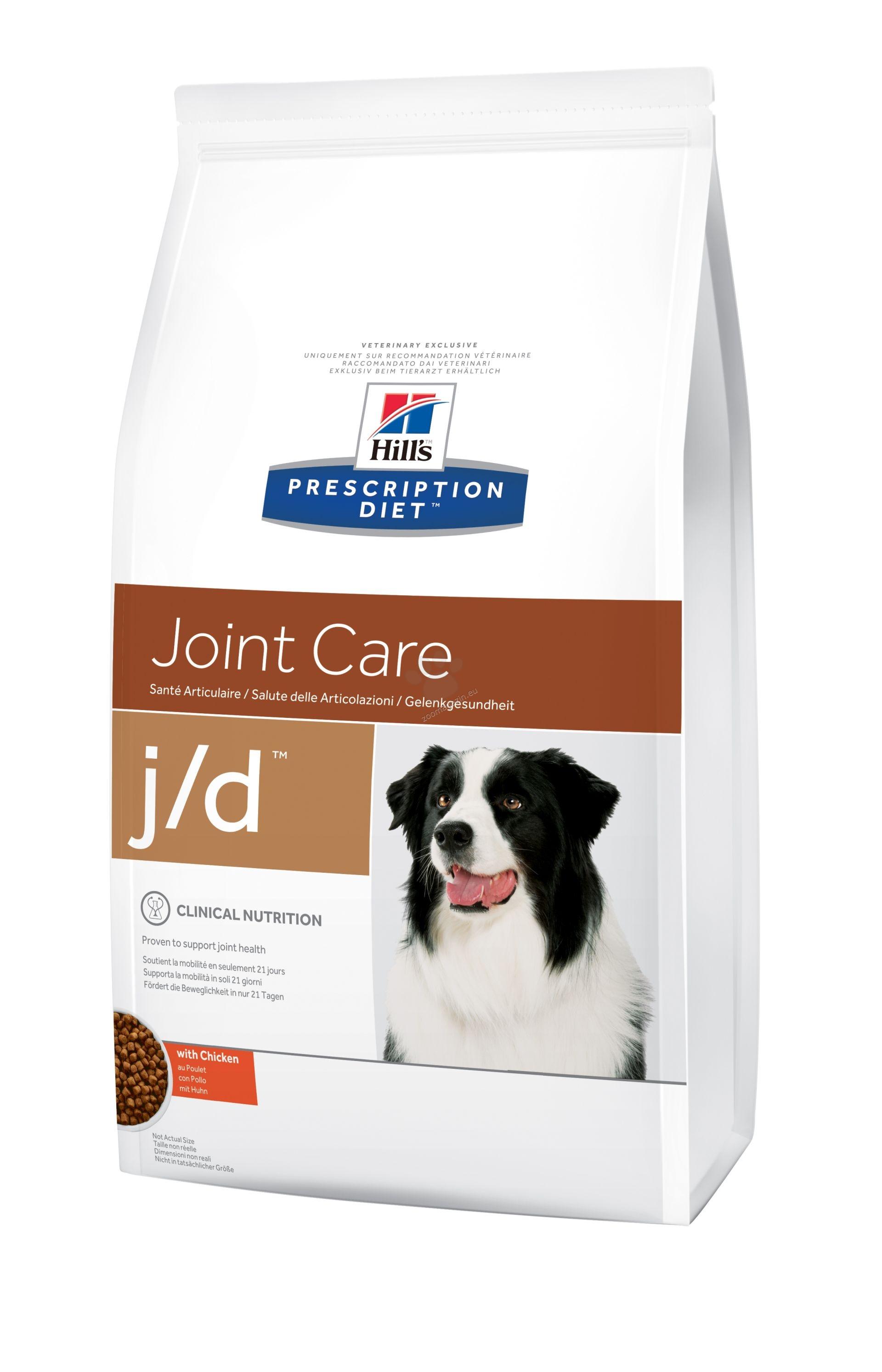 Hills Prescription Diet j/d - диета за кучета с остеоартритни заболявания 5 кг.