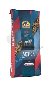 Cavalor Sport Action pellet - висококачествена основна храна за спортни коне - пелети 20 кг.