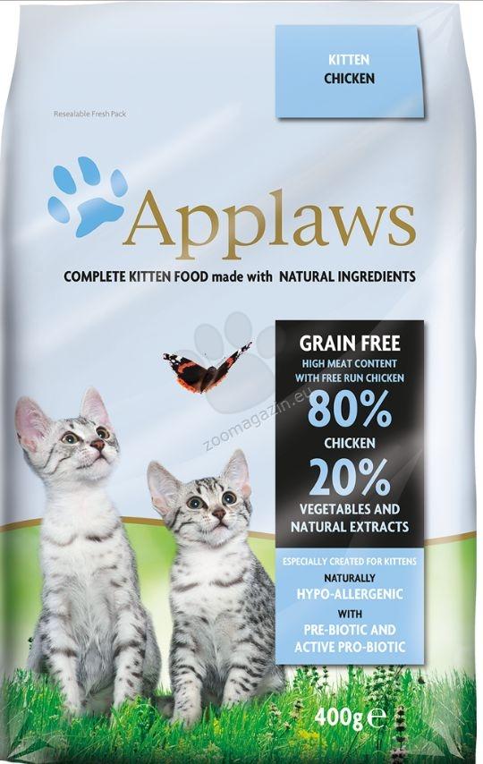 Applaws Chicken Kitten Cat - πλήρης τροφή για γάτες από 1 έως 12 μηνών 2 κιλά