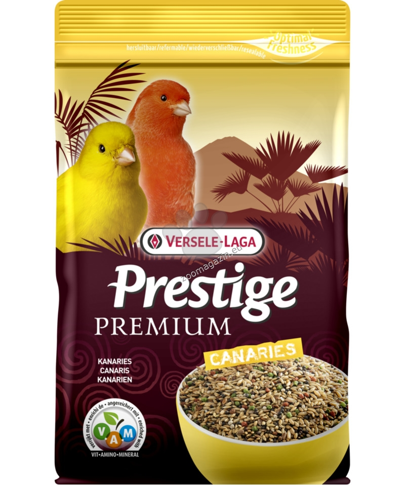 Versele Laga - Premium Prestige Canary - пълноценна храна за канари 800 гр.