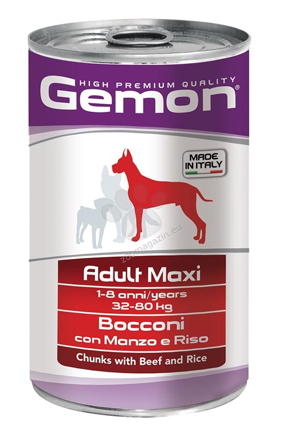 Gemon Beef and Rice Adult Maxi - с говеждо и ориз 1250 гр.
