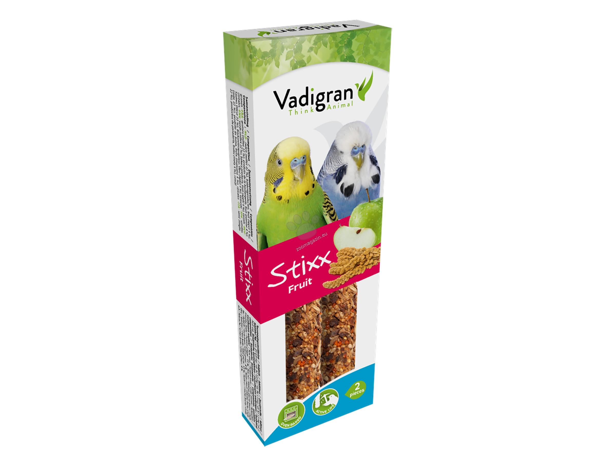 Vadigran Stixx Fruit - крекер с плодове 2 бр. / 85 гр.