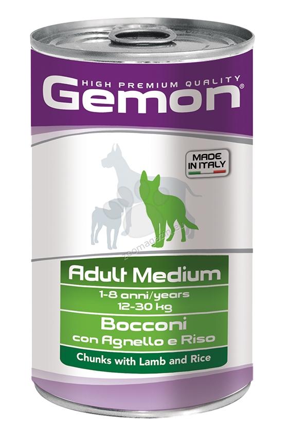 Gemon Lamb and Rice Adult Medium - с агнешко и ориз 1250 гр.