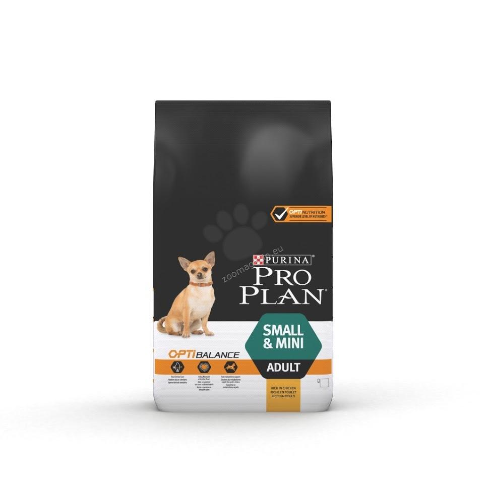 Pro Plan Adult Small Mini - пълноценна храна за кучета мини и малки породи / 1-10 кг. / над 12 месеца 7 кг.