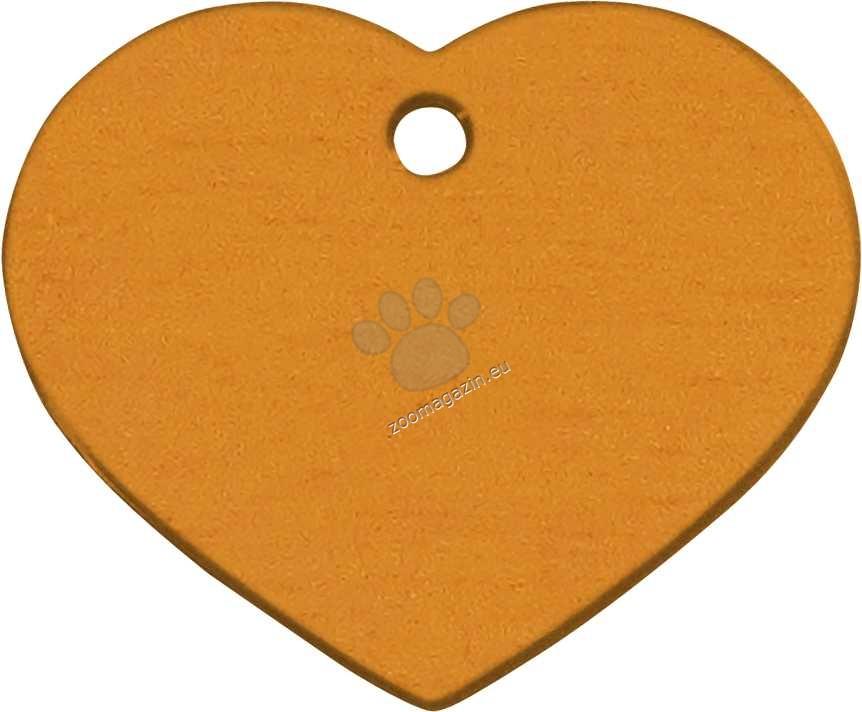 iMARC - Orange Classic Heart