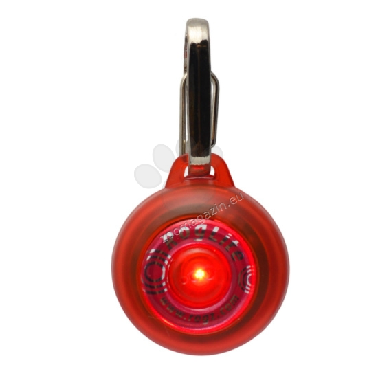 Rogz ID-Tag-Roglite-IDL02-C-Red - светещ флаер 31 мм.