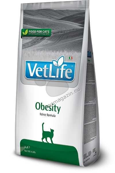 Vet Life Natural Diet Cat Obesity - диета за намаляване на наднорменото тегло при котки със затлъстяване 400 гр.