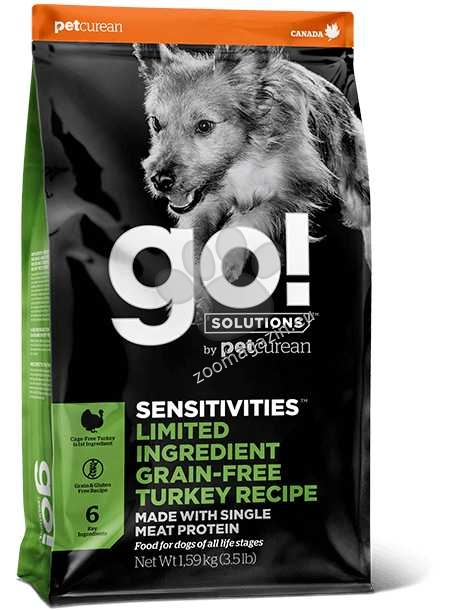 Go Solutions Sensitivities Limited Ingredient Grain Free Turkey Recipe - лимитирана серия с пуешко месо 10 кг.