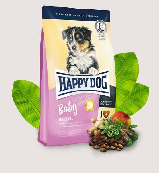 Happy Dog Baby Original - пълноценна храна за кученца от 4 седмична до 6 месечна възраст включително 18 кг.