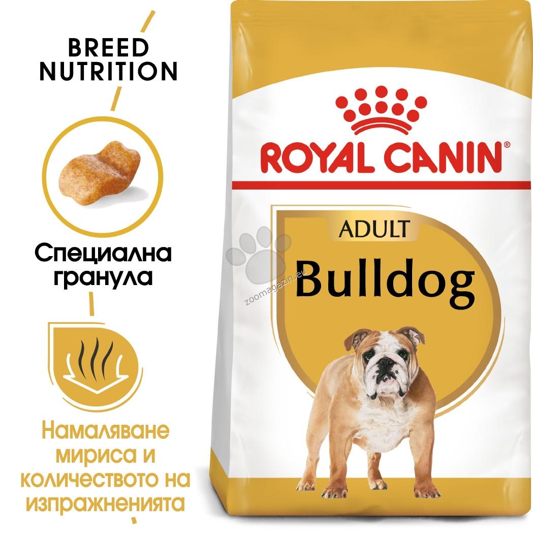 Royal Canin Bulldog Adult - за кучета порода английски булдог на възраст над 12 месеца  12 кг.