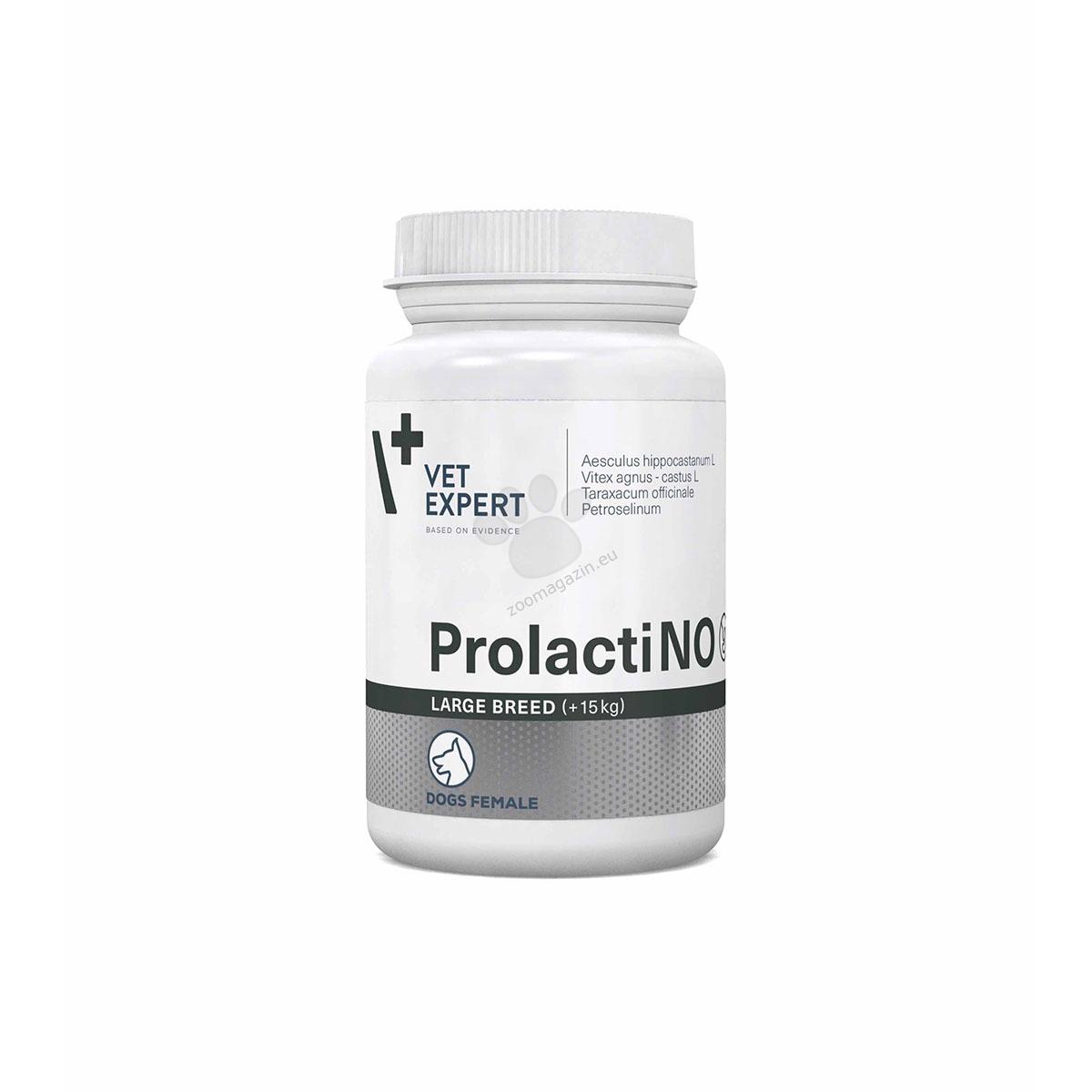 Vetexpert - ProlactiNO Large - естествен и ефикасен начин за контрол на лъжливата бременност, за големи породи 40 табл.