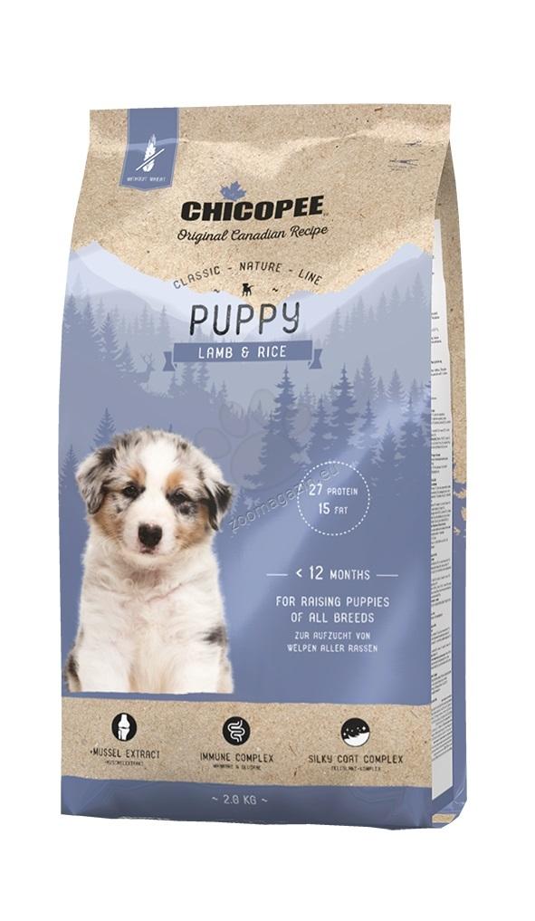 Chicopee Classic Nature Puppy - за малки кученца с агне и ориз 2 кг.