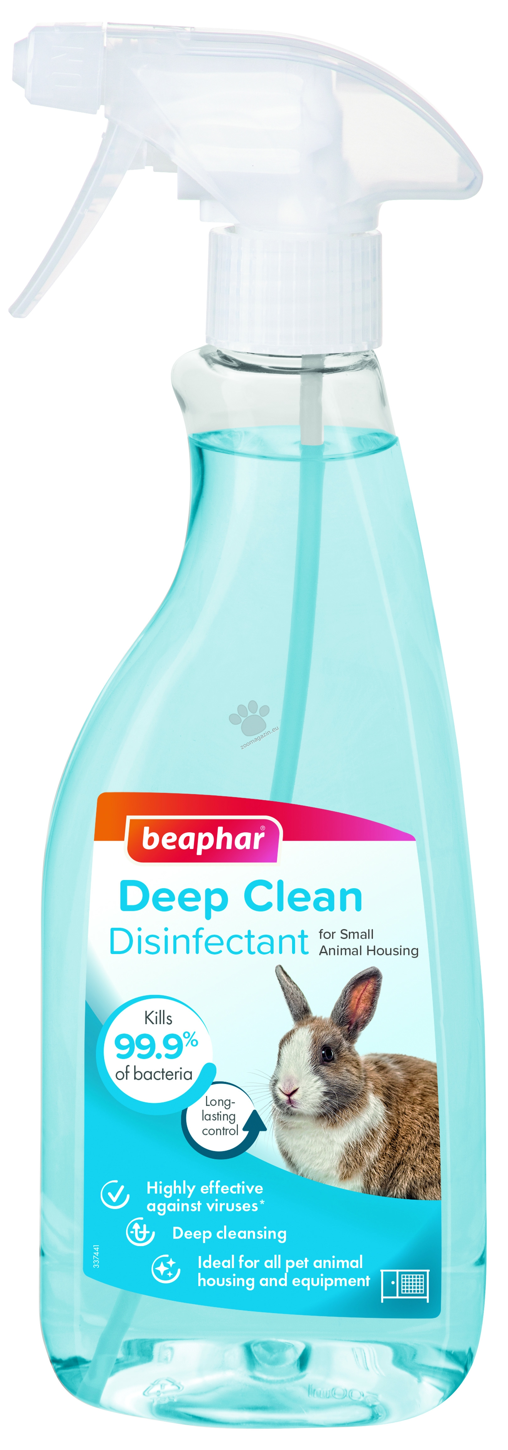 Beaphar Deep Clean - дезинфектант за клетки 500 мл.