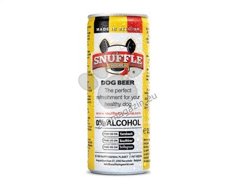 Snuffle Dog beer can  chicken - кучешка бира с вкус на пилешко 250 мл.
