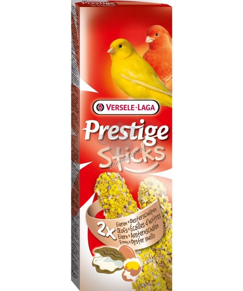 Versele Laga - Prestige Sticks Canaries Eggs & Oyster shells - стик за канари с яйца и черупки от стриди - 2 / 30 гр.