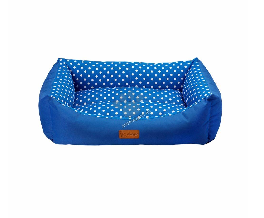 Dubex Tarte bed M - меко легло / червено, синьо / 62 / 44 / 22 см.
