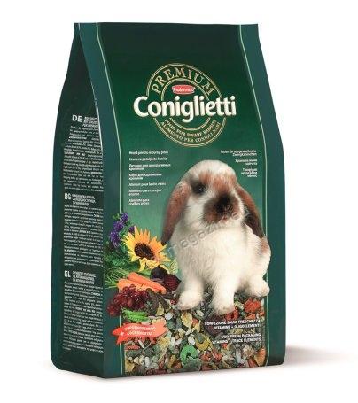 Padovan Premium cinigletti - пълноценна премиум храна за мини зайчета 2 кг.