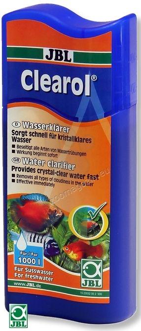 JBL Clearol - препарат за избистряне на водата 250 мл.