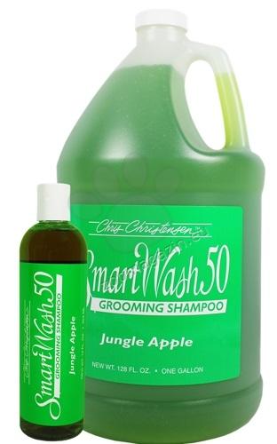 Chris Christensen SmartWash 50 Jungle Apple Shampoo - шампоан за ефективна грижа при силно замърсена козина / ябълка / 59 мл.