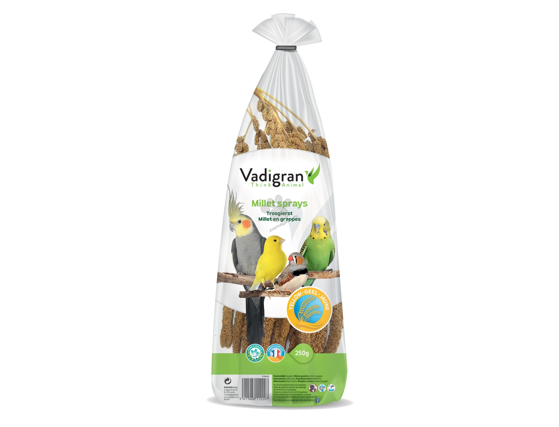 Vadigran - French Yellow Millet Sprays - френско жълто просо 250 гр.