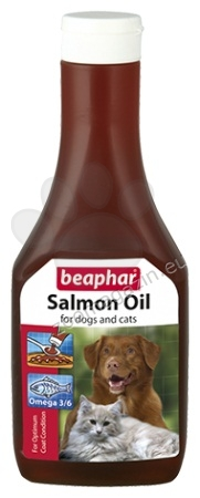 Beaphar Salmon Oil - масло от сьомга за здрава и лъскава козина 425 мл.