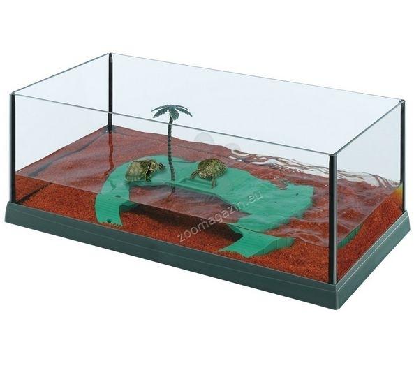 Ferplast Haiti 50 -ενυδρείο για χελώνες  51,5 / 27 / 18,5 εκ.