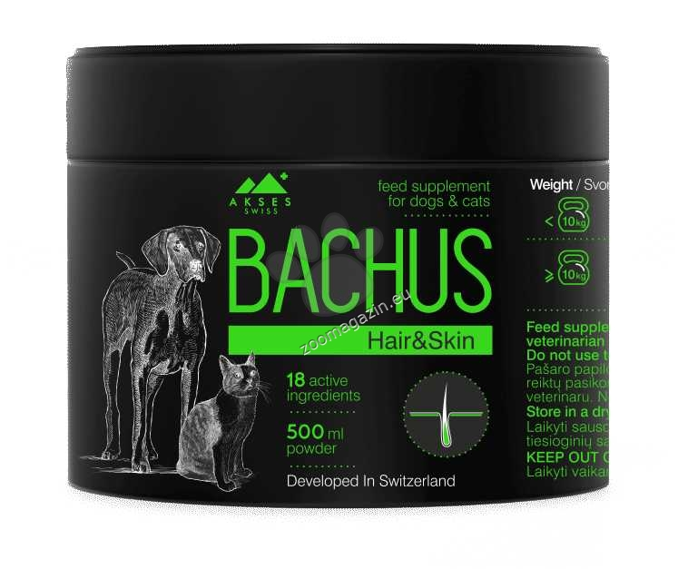 Bachus Hair Skin - хранителна добавка на прах 500 мл.