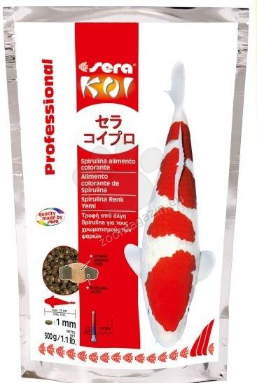 Sera - Koi Professional Spirulina - за контраст и оцветяване, 500 гр.