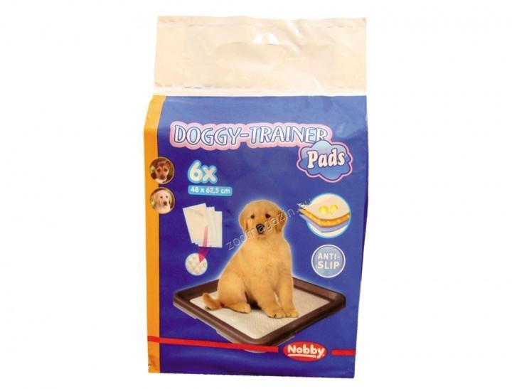 Nobby - памперси за постилане 62.5 / 48 см., 6 броя