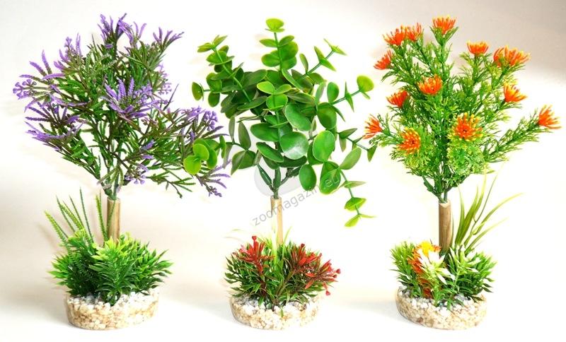 Sydeco Aqua Garden Nature 22 см. / зелено, червено, лилаво /